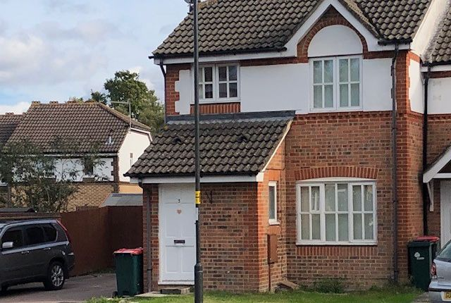 Thumbnail End terrace house to rent in Goddard Close, Maidenbower, Crawley