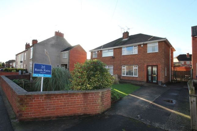 Thumbnail Semi-detached house for sale in Manor Road, Brimington, Chesterfield