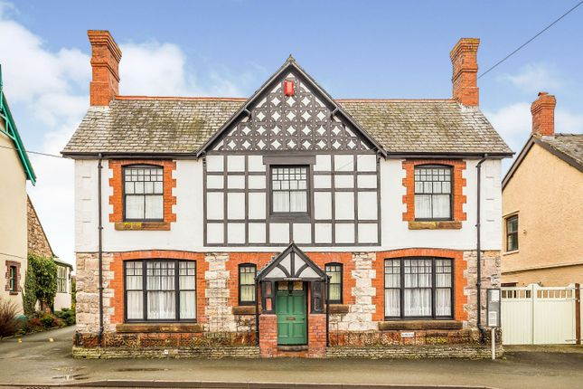 Thumbnail Detached house for sale in Llanymynech, Powys