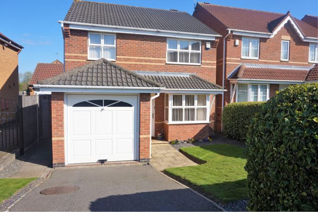Thumbnail Detached house for sale in Attenborough Close, Thorpe Astley, Leicester