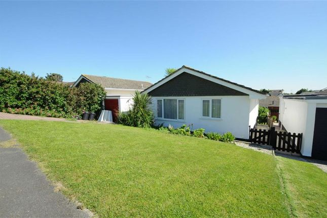 Thumbnail Detached bungalow for sale in Petherick Road, Bude, Cornwall