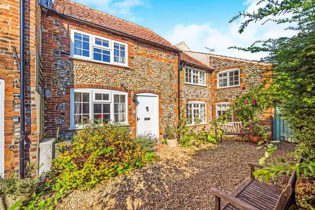 Terraced house for sale in Norwich Road, Holt