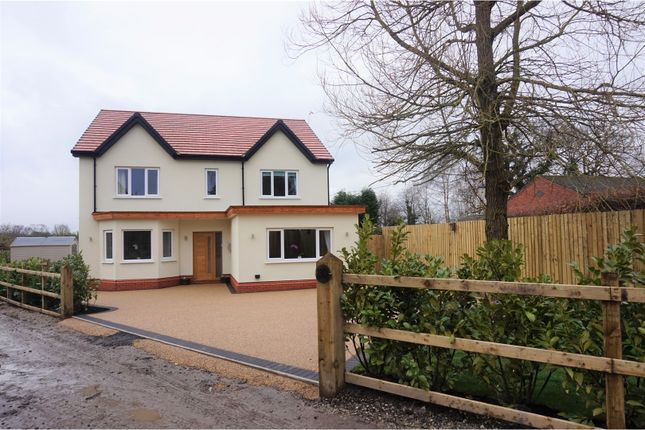 Thumbnail Detached house for sale in Lostock Hall Road, Poynton