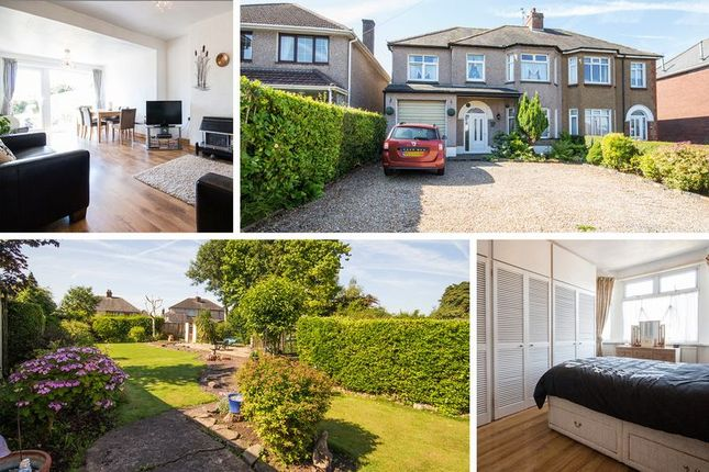 Thumbnail Semi-detached house for sale in Christchurch Road, Newport