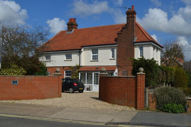 Thumbnail Detached house for sale in High Road West, Felixstowe