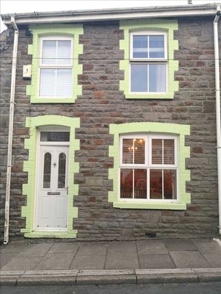 Thumbnail End terrace house for sale in Wyndham Street, Evanstown, Gilfach Goch, Porth