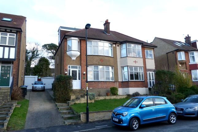 Thumbnail Semi-detached house for sale in Slades Gardens, Enfield