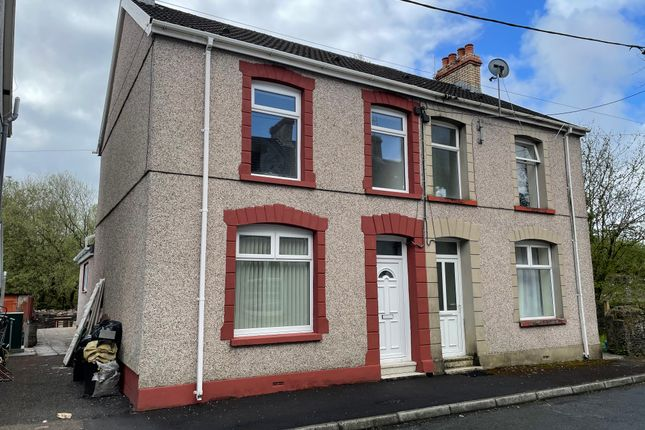 3 bed semi-detached house for sale in Woodlands Terrace, Cross Hands, Llanelli SA14