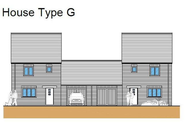 Thumbnail Link-detached house for sale in Hythe Road, Methwold, Thetford