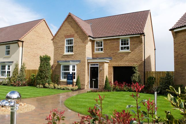 "Thumbnail Detached house for sale in ""Millford"" at Hurst Lane, Auckley, Doncaster"