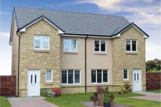 Thumbnail Semi-detached house for sale in Plot 5 Arrochar, Silver Glen, Alva, Clackmannanshire
