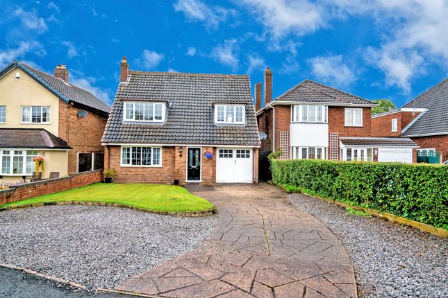 Thumbnail Detached house for sale in Daisy Bank Close, Pelsall, Walsall