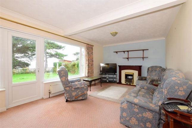 Thumbnail Detached bungalow for sale in Seven Sisters Close, St. Lawrence, Ventnor, Isle Of Wight