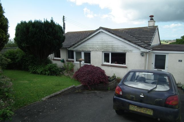 Thumbnail Detached bungalow for sale in Morview Road, Widegates, Looe