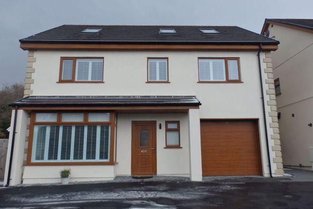 Thumbnail Detached house for sale in Cwmfelin Road, Bynea, Llanelli