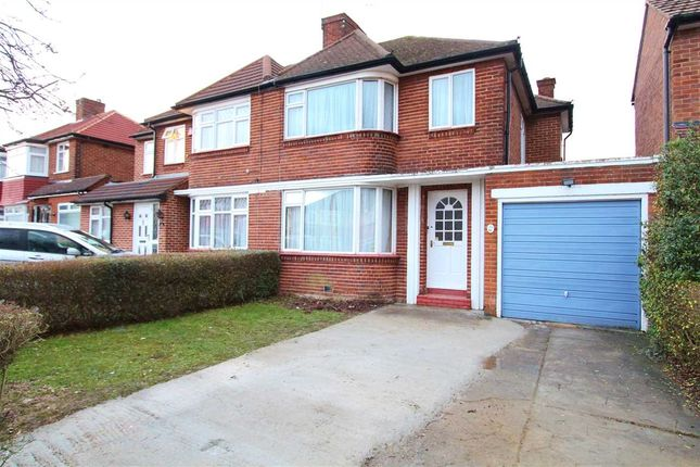 Thumbnail Semi-detached house to rent in Kynance Gardens, Stanmore