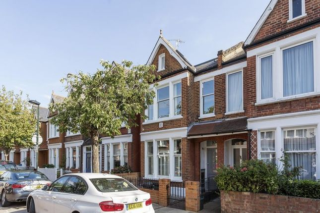 Thumbnail Terraced house for sale in Elm Grove Road, Barnes, London