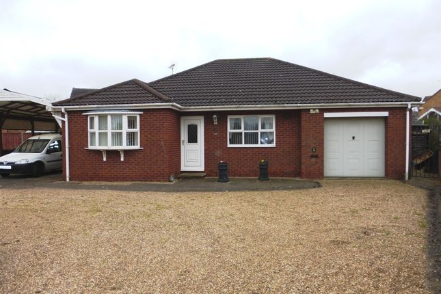 Thumbnail Detached bungalow for sale in Wisteria Way, Scunthorpe
