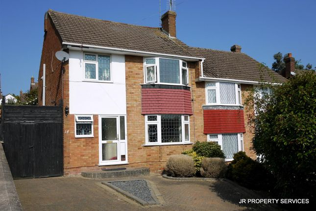Thumbnail Semi-detached house to rent in Cranfield Crescent, Cuffley, Potters Bar