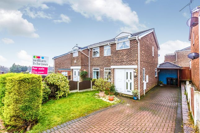 Thumbnail Semi-detached house for sale in Clifton Rise, Maltby, Rotherham