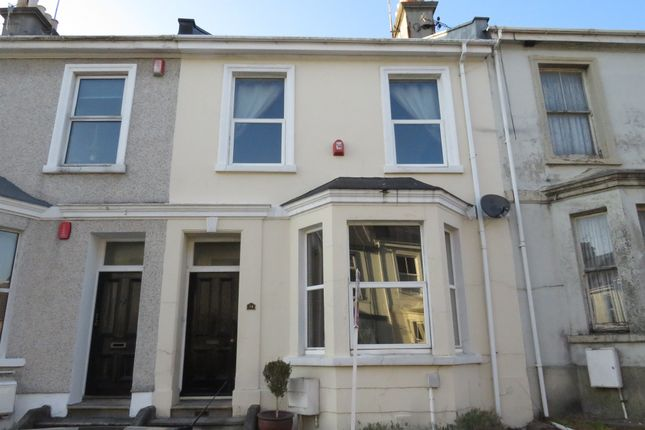 Thumbnail Terraced house for sale in Palmerston Street, Stoke, Plymouth