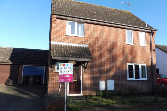 Thumbnail Link-detached house for sale in Ives Close, Diss