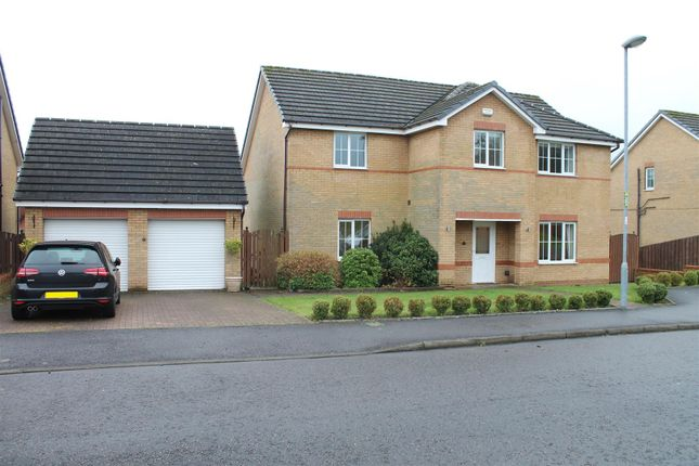 Thumbnail Detached house for sale in Mosswater Wynd, Cumbernauld, Glasgow