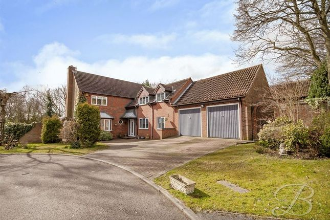 Thumbnail Detached house for sale in Fairlawns, Mansfield