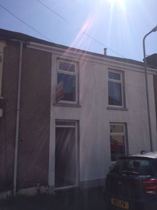 Thumbnail Terraced house to rent in Regent Street East, Briton Ferry, Neath