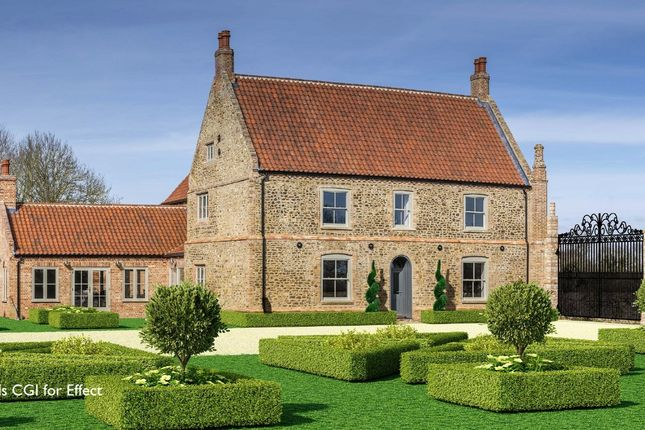 Thumbnail Detached house for sale in Downham Road, Stradsett, King's Lynn, Norfolk