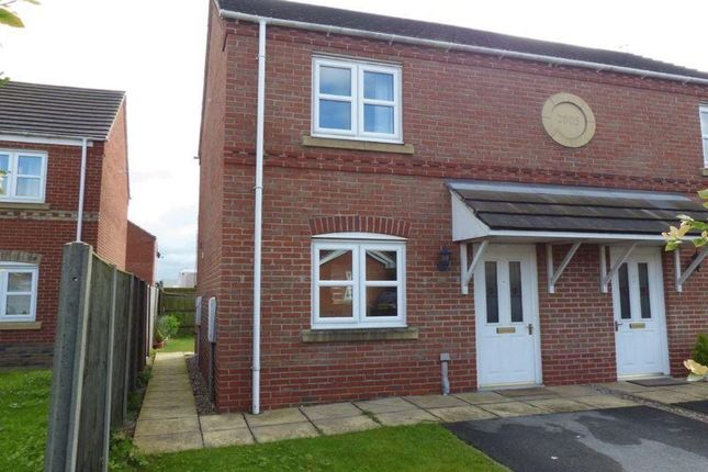 Thumbnail Semi-detached house for sale in Arnhem Close, Lincoln