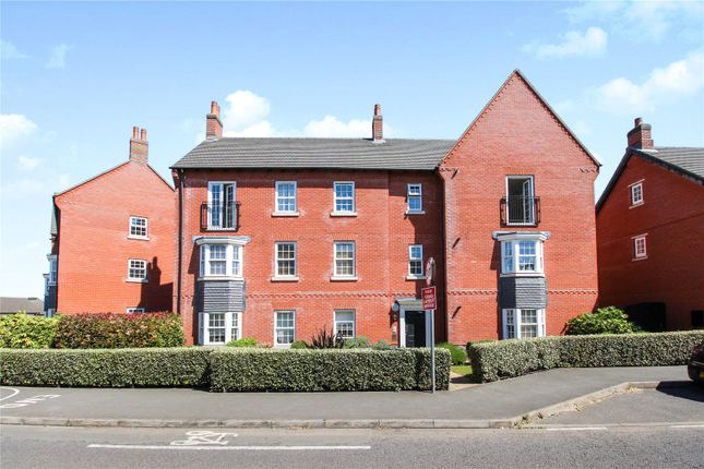 Thumbnail 2 bed flat for sale in Barkby Road, Syston, Leicester, Leicestershire
