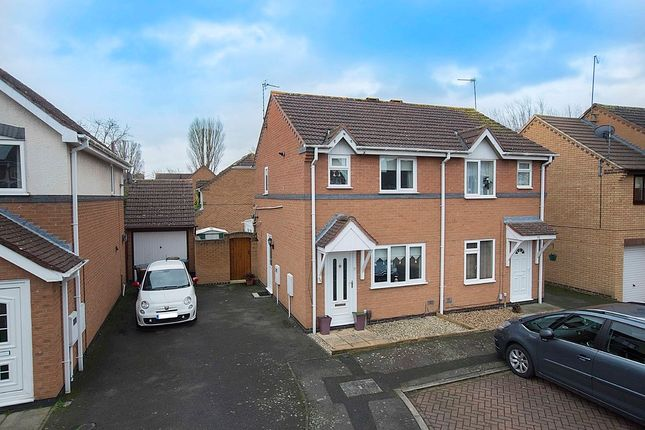 Thumbnail Semi-detached house for sale in Charnwood Road, Corby