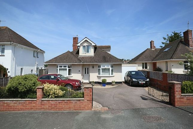 Thumbnail Detached bungalow for sale in Featherbed Lane, Exmouth