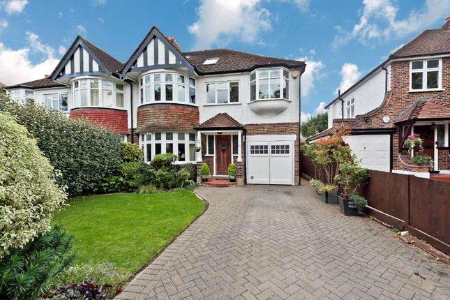 Thumbnail Semi-detached house for sale in Pine Gardens, Berrylands, Surbiton