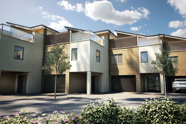 """Thumbnail Terraced house for sale in """"The Lembury Plot 57"""" at St. Peters Quay, Totnes"""