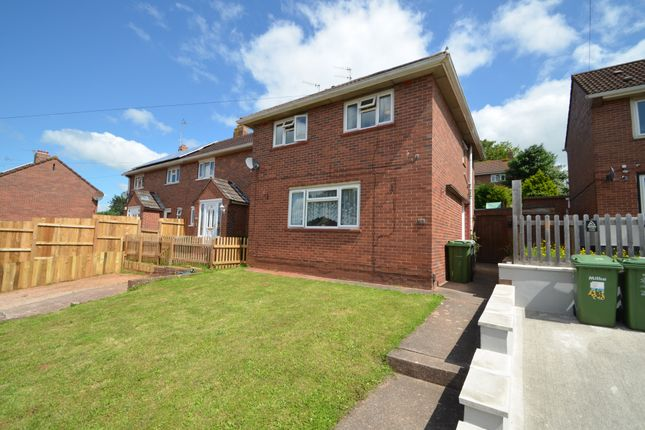 Thumbnail End terrace house for sale in Leypark Road, Exeter