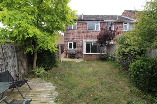 Rear View of Llewellin Close, Poole BH16