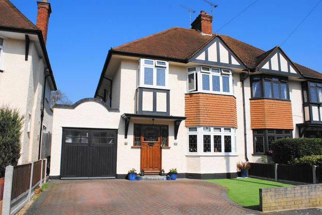 Thumbnail Semi-detached house for sale in Ewan Way, Leigh On Sea, Essex
