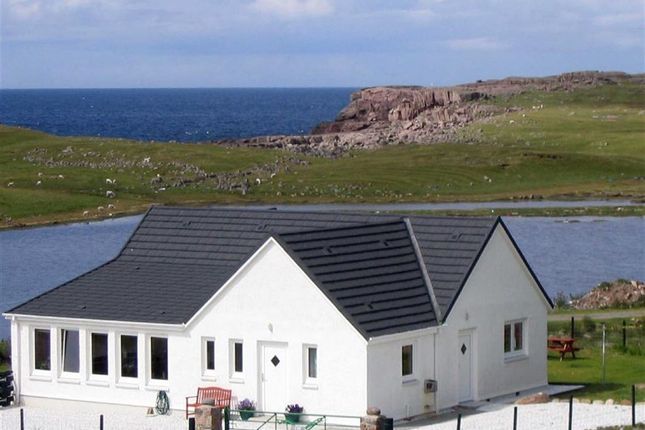 Thumbnail Detached bungalow for sale in The Steading, Reiff, Achiltibuie