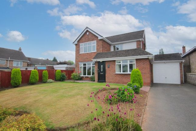 Detached house for sale in Werburgh Drive, Trentham, Stoke-On-Trent