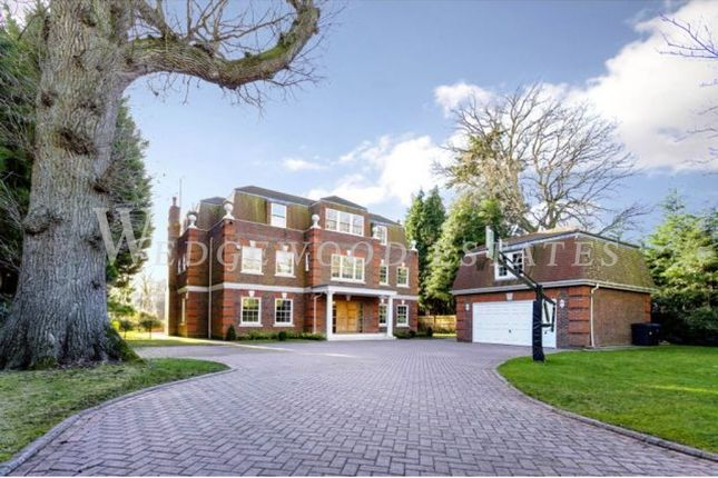 Thumbnail Town house for sale in Abbots Drive, Wentworth Estate, Virginia Water, Surrey