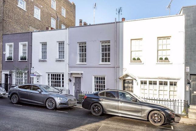 Thumbnail Terraced house to rent in Uxbridge Street, London