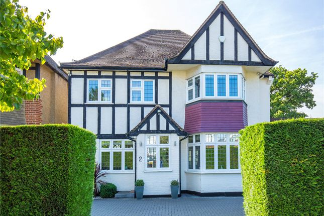 Thumbnail Detached house for sale in Hazel Gardens, Edgware, London