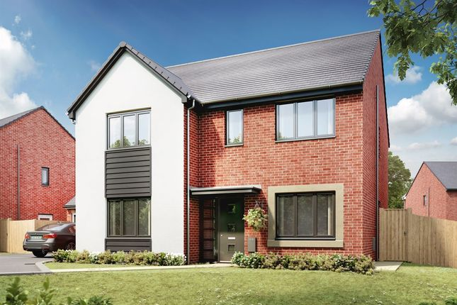"""Thumbnail Detached house for sale in """"The Marylebone"""" at Llantrisant Road, Capel Llanilltern, Cardiff"""