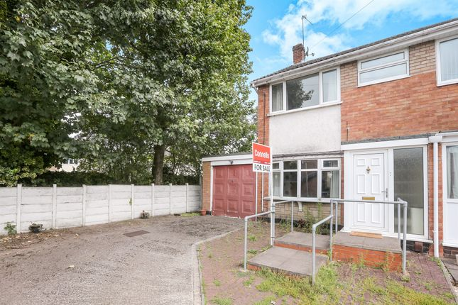 Thumbnail End terrace house for sale in Barrington Close, Fordhouses, Wolverhampton