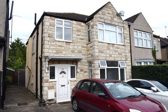 Thumbnail Semi-detached house to rent in Enderley Road, Harrow Weald