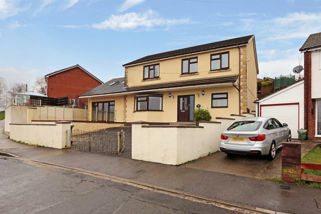 Thumbnail Detached house for sale in Lanwood Road, Pontypridd