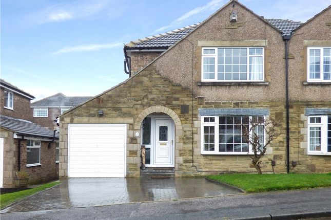 Thumbnail Semi-detached house for sale in Ollerdale Avenue, Allerton, Bradford, West Yorkshire