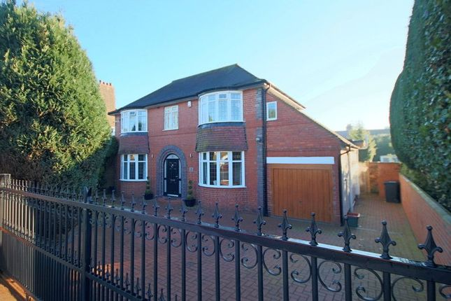 Thumbnail Detached house for sale in Whitmore Road, Newcastle-Under-Lyme